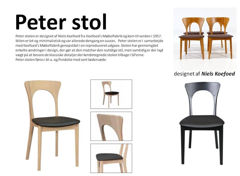 Peter stol