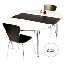 Rundt spisebord Ø12