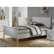 Hvidmalet seng