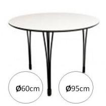 Køkkenbord Ø60 / Ø95