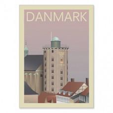 DK Rundetårn m/ ramme