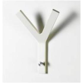 Y-knage-Hvid lak